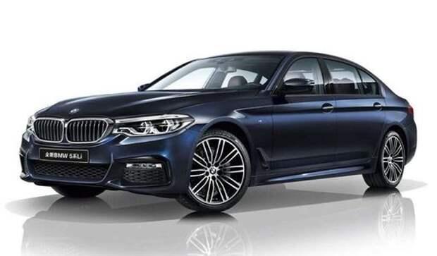 Удлиненный BMW 5-й серии: китайский эксклюзив