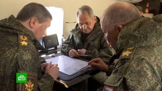 Шойгу подвел итоги проверки войск в Крыму