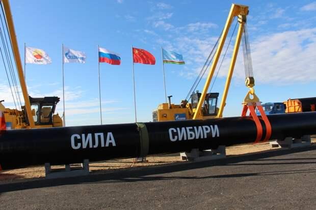 Путин и Си Цзиньпин завтра запустят «Силу Сибири»