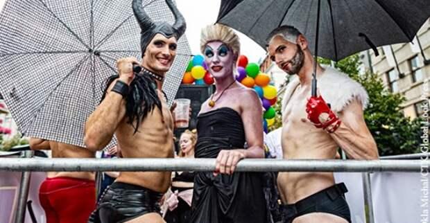 Либерализм ведет к гомосексуализму