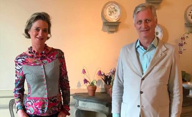 Король Бельгии впервые встретился со своей сводной сестрой, которая 20 лет пыталась доказать их родство