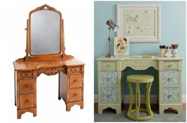 переделка мебели из старой в новую