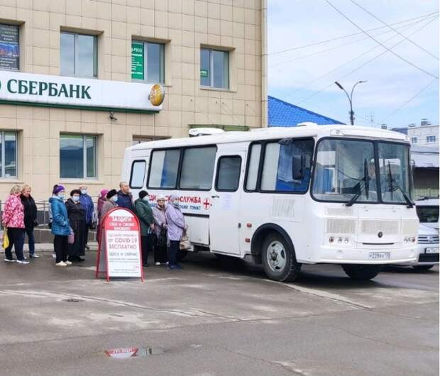 Почти 7 тысяч жителей Усолья-Сибирского и района привились первым компонентом вакцины от COVID-19