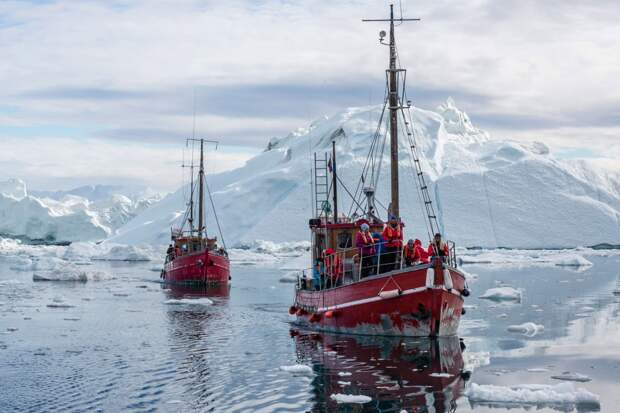 Дания жаждет ухватить кусок российской земли в Арктике
