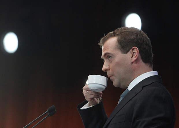 Дмитрий Медведев, кофе|Фото: life.ru