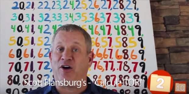 2. Скотт Фленсбург — калькулятор 10 людей со сверхспособностями., сверхспособности, топ