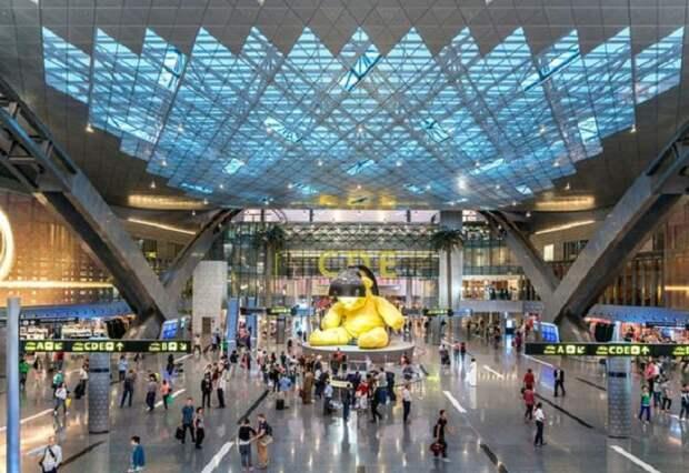 Hamad International Airport - наиболее значимый аэропорт в Катаре.