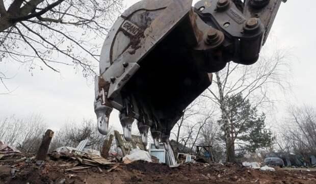 В Мещанском районе демонтирована незаконная пристройка