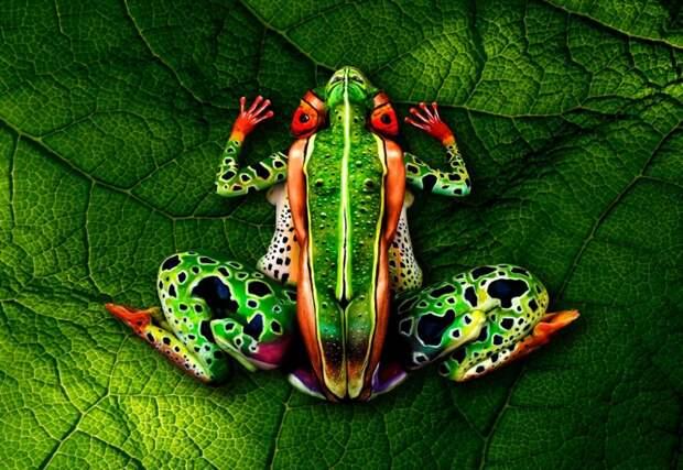 Итальянский художник Йоханнес Стойтер искусство, красиво, поразительно, тело, человек, шедевры