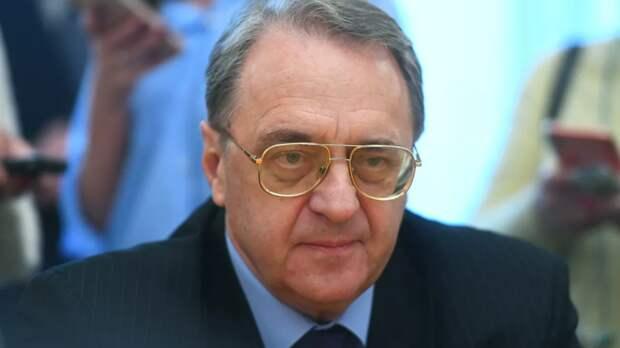 Богданов прокомментировал палестино-израильский конфликт