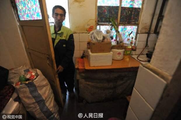 Китайский дворник за 30 лет оплатил образование 37 обездоленных детей дворник, дети, добро, обучение
