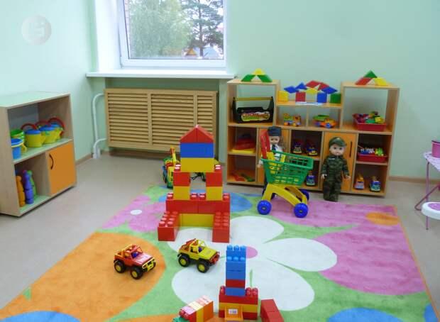 Два детских сада достроят в Ижевске в этом году