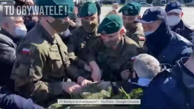 «Пробили ещё одно дно»: для разгона инакомыслящих власти Польши наняли армию