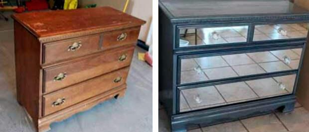 переделка старой мебели дизайн