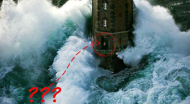 Посреди бури: выжилли смотритель маяка слегендарной фотографии?