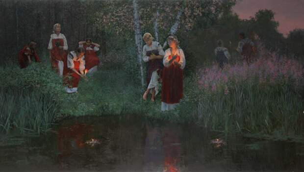 Как гадали на картинах русских художников. Галерея 6