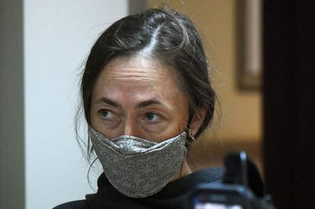 Жена Михаила Ефремова Софья Кругликова.