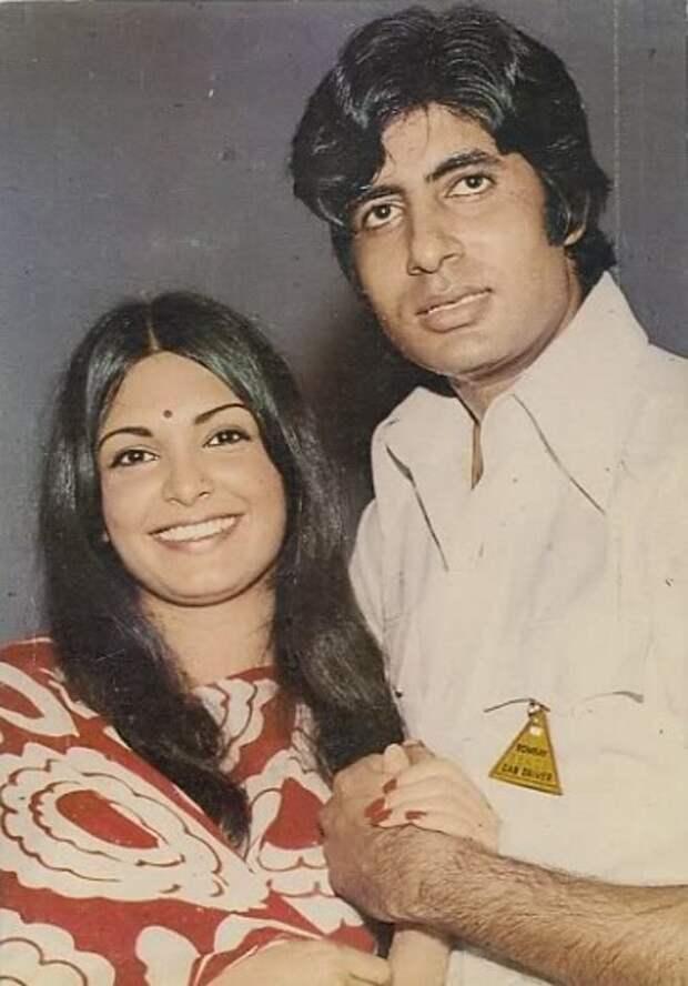 Амитабх Баччан и Парвин Баби. Фото /  Amitabh Bachchan, Parveen Babi. Photo
