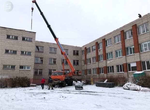 Ученики школы №80 в Ижевске наконец-то приступили к занятиям в отремонтированном здании