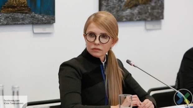 Тимошенко: Власть должна снизить налоги и вывести бизнес из тени