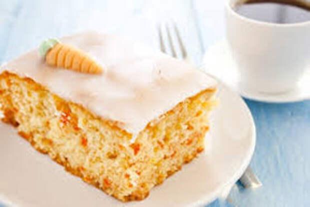 Морковный пирог как в ресторане