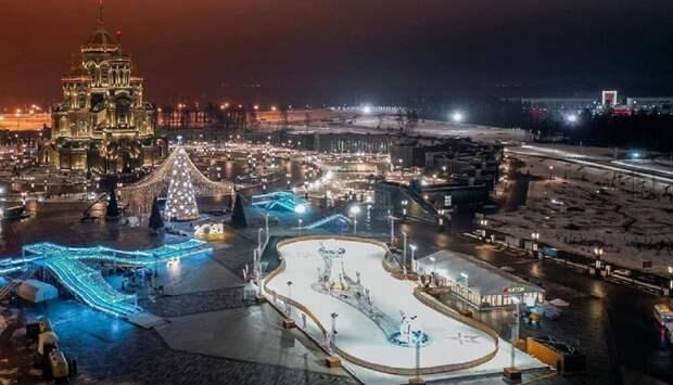 До новогоднего парка «Патриот» в Подмосковье организованы маршруты автобусов