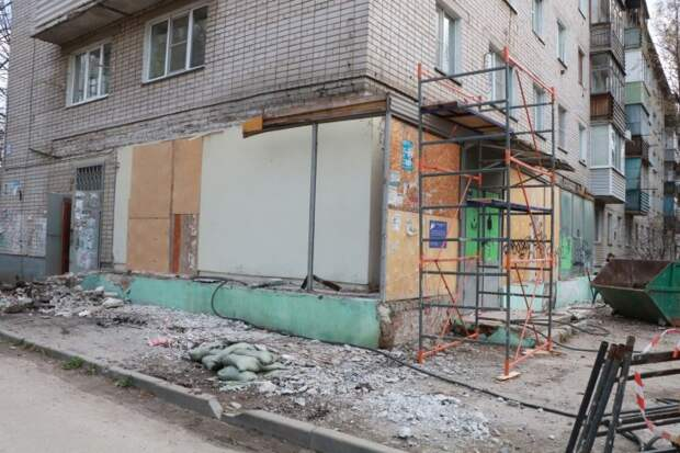 Музыкальную школы в Канищеве начали ремонтировать