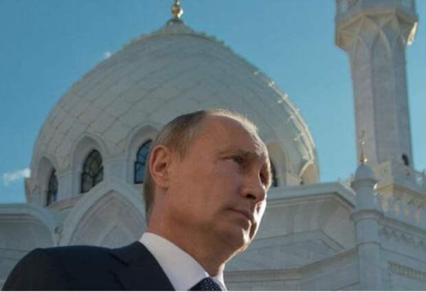Президент Владимир Путин поздравил мусульман России сУраза-байрамом