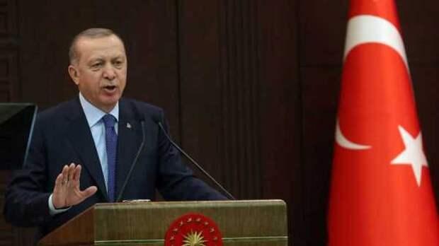 Эрдоган призвал жителей Турции ещё немного потерпеть: «Впереди светлые дни»