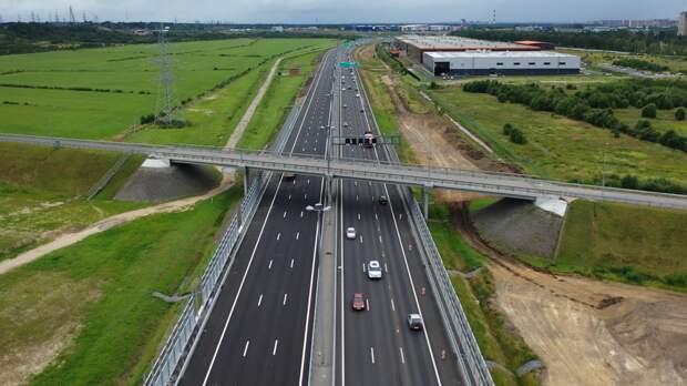 Движение транспорта ограничат в Токсовском тоннеле на КАД в сторону Петербурга