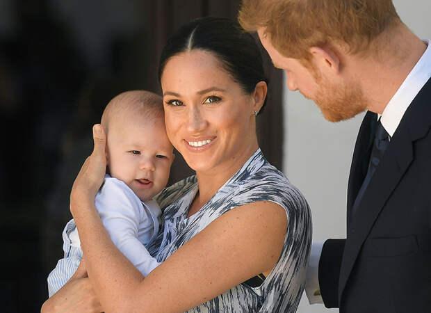 """Принц Гарри о сыне: """"Мне бы очень хотелось, чтобы Арчи занялся регби"""""""