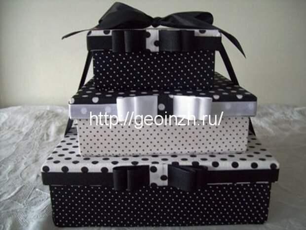 Вторая жизнь обувной коробки -18 идей декорирования