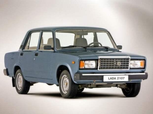 Lada 2107 по-прежнему лидирует в продажах подержанных авто