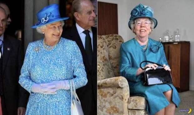 Двойник королевы Елизаветы II