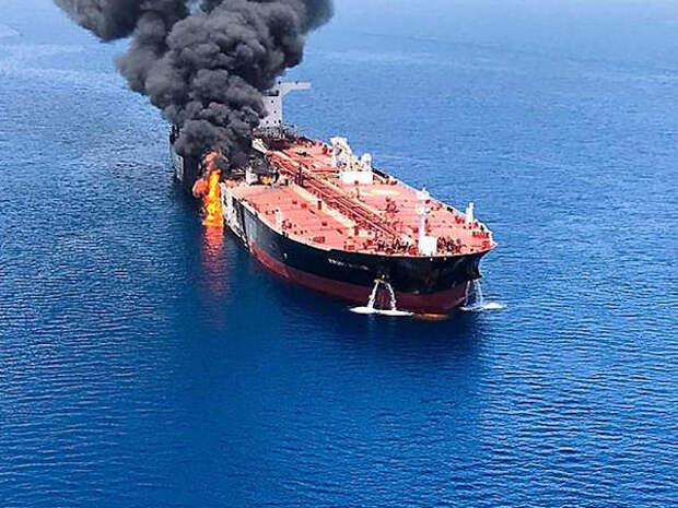 Израильский корабль атакован у берегов Омана
