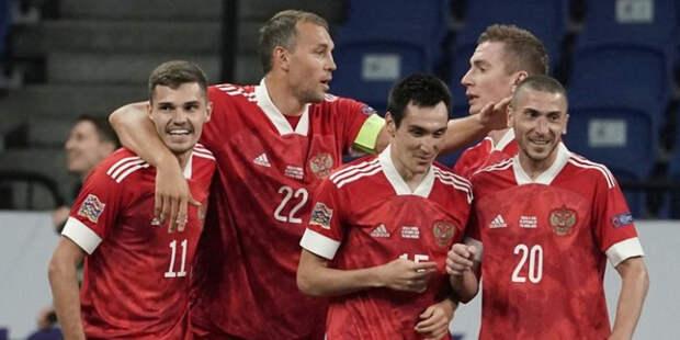 Дзюба отличился дублем в матче против сборной Сербии