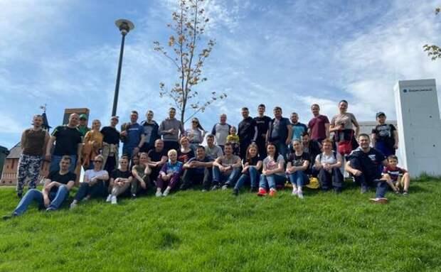 Сотрудники Тульского отделения Сбербанка приняли участие в общеобластном субботнике