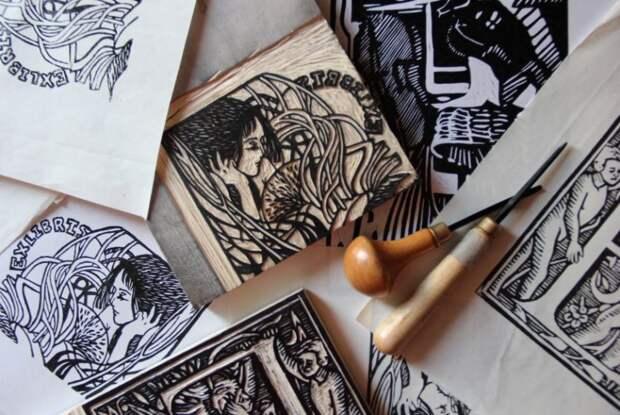 В САО представят выставку китайской ксилографии