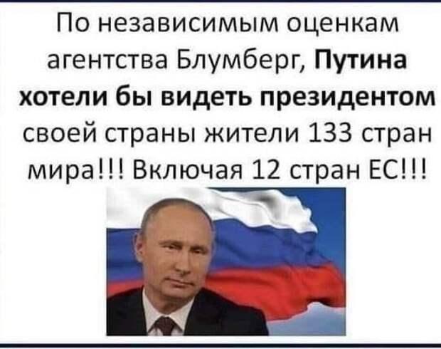 Bloomberg о Путине