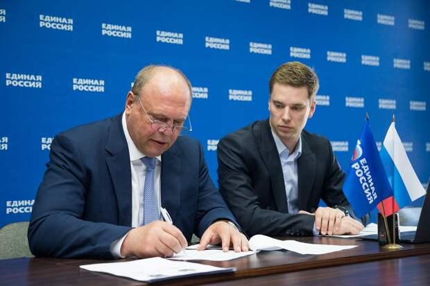 Анатолий Лесун зарегистрировался на участие в предварительном голосовании на выборы в Госдуму