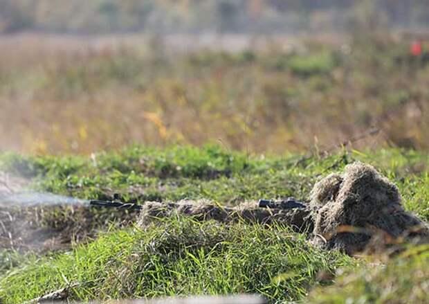 Снайперы и гранатометчики общевойскового объединения ВВО отработали взаимодействие на полигоне « Бурдуны» в Бурятии