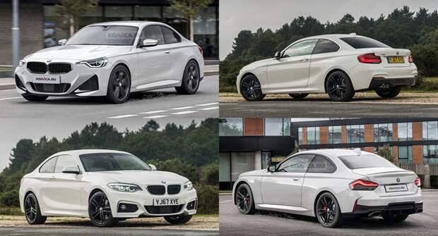 BMW озвучил сроки появления на рынке нового купе 2-Series
