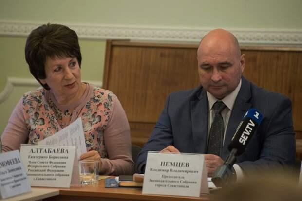 Немцев оставил Алтабаеву сенатором от заксобрания Севастополя