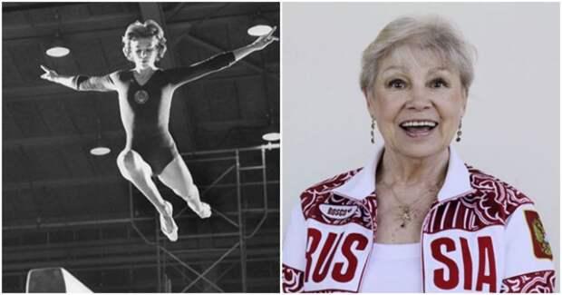 Как выглядит и чем занимается советская гимнастка Лариса Латынина