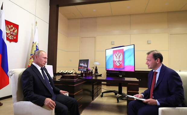 Интервью Владимира Путина телеканалу