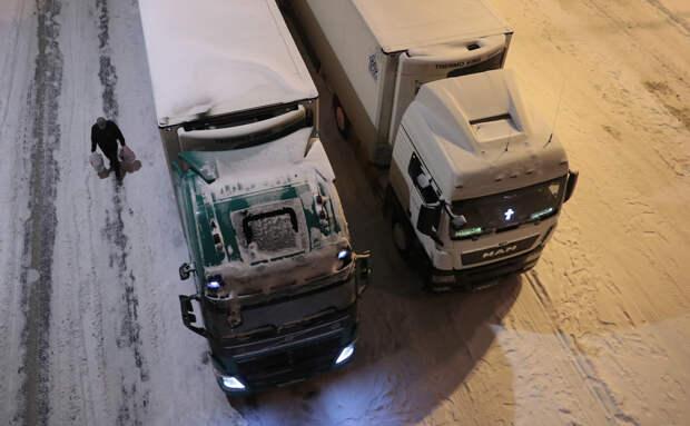 В Москве на год продлили ограничения для большегрузов