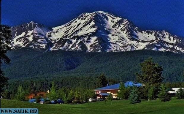 Гора Шаста в Неваде и золотая комната внутри нее