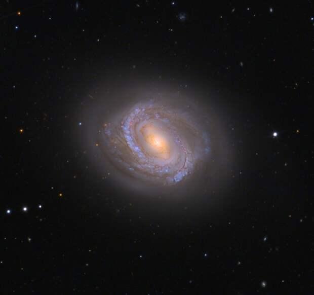 Почему спиральные галактики так слабо закручены?