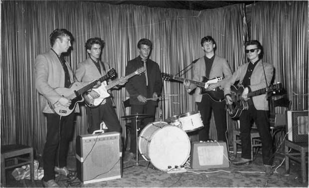 Первая фотосессия The Beatles. 1960 год
