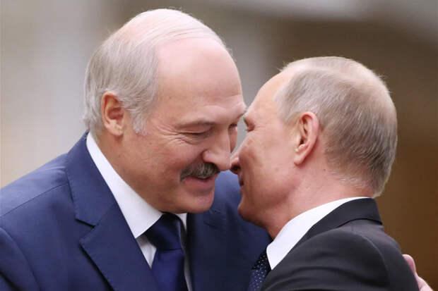 Об истерике Лукашенко и пощёчине Путину